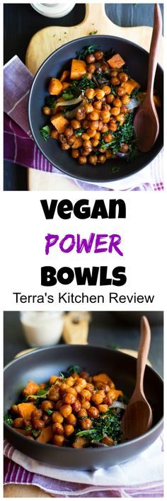 These Vegan Power Bowls from Terra's Kitchen come together in just 30 minutes and are perfect for a weeknight dinner! + a review of Terra's Kitchen @TKMeals #ad #arecipeforreallife