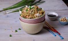 Why not explore our popular recipes and articles made with Knorr products, or discover more with tips and tricks? Easy Rice Recipes, Easy Chicken Recipes, Asian Recipes, Large Skillet, Chicken Flavors, Best Dinner Recipes, Chicken Seasoning, Green Onions, Fabulous Foods