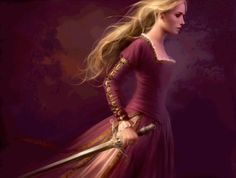Character inspiration, burgundy dress, warrior Queen, sword and dress Fantasy Inspiration, Story Inspiration, Character Inspiration, Character Art, Fantasy Women, Fantasy Art, Fantasy Characters, Female Characters, Melanie Delon