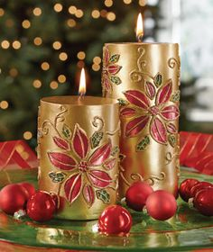 Find wreaths, holiday bedding, Santa collectibles and everything else you need to deck the halls with Christmas Decorations from Collections Etc. Christmas Poinsettia, Christmas Flowers, Christmas Mood, Christmas Candles, All Things Christmas, White Christmas, Expensive Candles, Indoor Christmas Decorations, Collections Etc