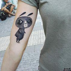 www.instagram.com... #tattoo #tatuaz #tattoowork #project #design #ink #inked #graphic #tattuaggio #btattooing #tattuaje #illustration #татуировка #тату #krakow #berlin #wroclaw #warszawa #prague #praha #tetovani #tätowierung #tatuajes #panakota #littletattoos #rabbit #bunny #moon