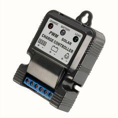 La carga del panel solar, regulador del cargador de batería del controlador PWM automático 10A 6v / 12v