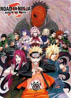 6-Naruto Shippuuden: (Filme 6) Road To Ninja Ano: 2012 Gêneros: Ação, Aventura, Shounen, Artes Marciais D 09/2015