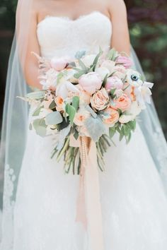 When it comes to weddings we try not to play favorites, but Blaine Siesser Photography just gets us. Because when we see out-of-this-universe beautiful weddings like this one (complete with pretty pastels and one madly in love couple), it's impossible not to fall