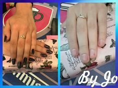 My first nail with tips  #by me