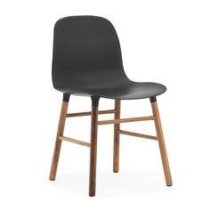 Normann Copenhagen Form Chair - Walnut