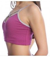 4-rth Yoga Bra Top - Plum 20% Off styles from 4-rth Use code NoShirt
