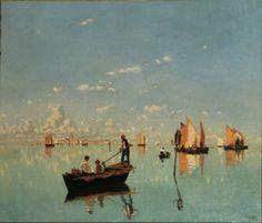 (title?)  by, Giacomo Favretto.  1849-1887