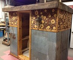 diy outdoor projects If you want to build an indoor or outdoor sauna, we've got you covered. We've assembled a list of 29 DIY sauna plans from around the internet.