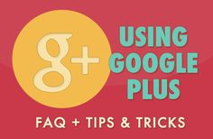 Gearing up for a Google+ push? Or just want to meet some new readers and bloggers via Gplus? Just read these facts and tips to brush up on circles, +1's, and communities