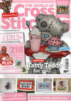 The World of Cross Stitching Issue 204 Patterns Pinned