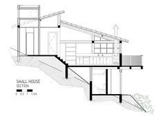 Hermosa casa de campo diseñado por Ana Cristina Faria y Maria Flávia Melo donde analizaremos las fachadas frontales y laterales, además le daremos un vistazo a los planos de planta y de sección pa…