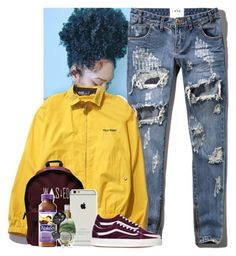 """""""gas what I smoke."""" by mxnvt ❤ liked on Polyvore featuring Abercrombie & Fitch, Polo Ralph Lauren, Vans, Zone and Organix"""