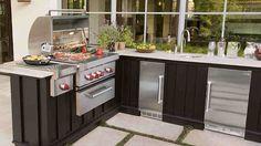 20 Fancy Modular Outdoor Kitchen Designs