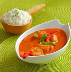 Funke Koleosho's Food Blog: Nigerian-Thai Prawn Curry