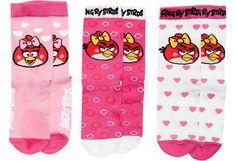 Angry Birds lasten sukat 3 paria - koko 27-30. 7,95 €