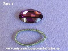 www.miscreacionesconabalorios.es: Tutorial engastar piedra ovalada de swarovski 30x22.