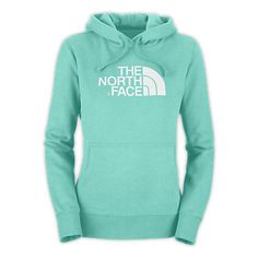 North Face hoodie | I like this minty green.