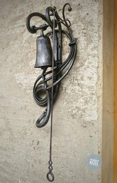 Juego de cinco a mano forjado hierro gancho de estilo antiguo tocador gancho de hierro de l