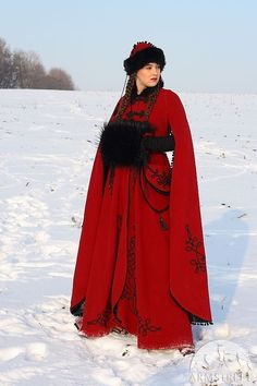 BLACK FRIDAY SALE Medieval Fantasy Winter Coat Queen by armstreet