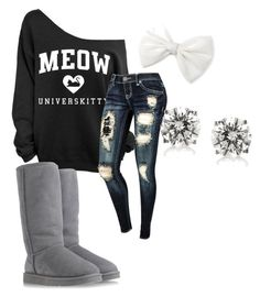 """""""Untitled #154"""" by dahlbrid ❤ liked on Polyvore featuring UGG Australia"""