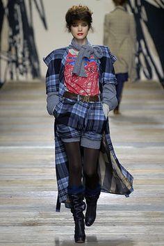 Saídos da Concha: Tartan is... High Fashion