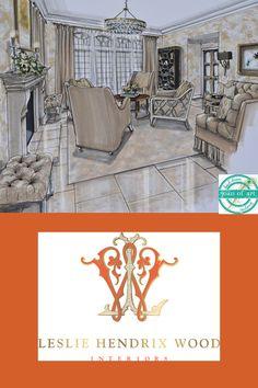 Leslie Hendrix Wood Interior Design, Midland, Texas