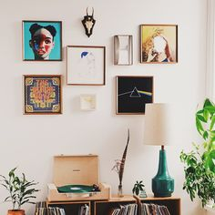 Home Décor: Art, Wall Hangings, + Framed Records, Simple Colors, My Room, Home Art, Wall Decals, Wall Art, Living Spaces, Living Room, Mid-century Modern