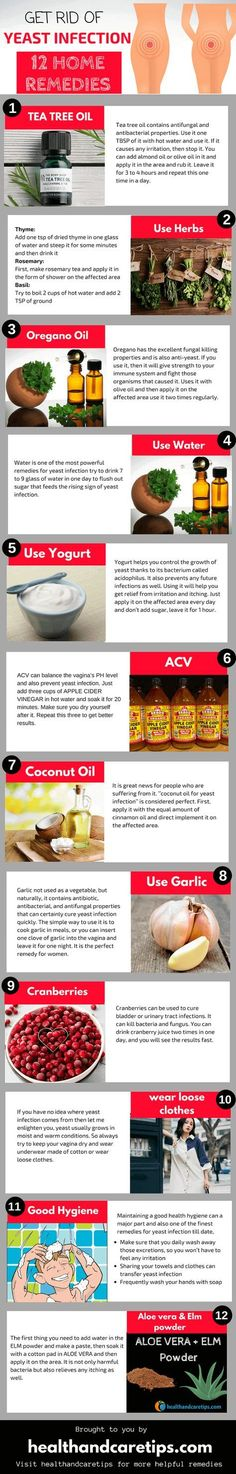 Top 12 Best Home Remedies for Yeast Infection: