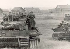 Soldiers back on their Tiger tank