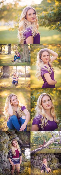 M's Senior Portraits at the park | Heidi Hope Photography