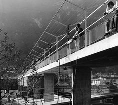 Public Swimming Pool  Bellinzona,Switzerland, 1967-1970  Aurelio Galfetti