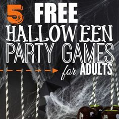 Here are some easy Halloween Party Games for Adults that will cost you nothing. … Here are some easy Halloween Party Games for Adults that will cost you nothing. Adults can have fun at Halloween too without breaking the bank. Halloween Housewarming Party, Teen Halloween Party, Halloween Party Activities, Halloween Games Adults, Haloween Party, Easy Halloween, Halloween 2018, Halloween Crafts, Halloween Pizza