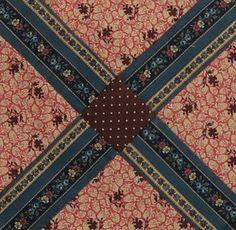 Kentucky Crossroads Quilt Block Barbara Brackman Civil War Quilt