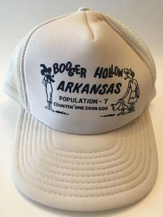 f0f139c6219c0 Booger Hollow Arkansas trucker hat cap snapback  Sportcap  TruckerHat  Sports Caps