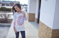 Dottie Couture Boutique - Aztec Fine Knit, $36.00 (http://www.dottiecouture.com/aztec-fine-knit/)