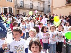 01 - Cercavila Trobades d'Escoles en Valencià 2013 a Pedreguer (201) Foto: laveupv.com