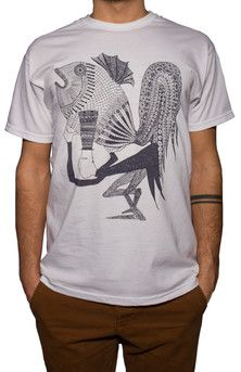 t-shirt big fish by CurvedLines