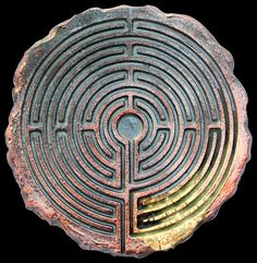 Maze or labyrinth? Labyrinth Maze, Labrynth, Crop Circles, Art Moderne, Ancient Artifacts, Ceramic Artists, Glyphs, Sacred Geometry, Sculptures