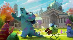 Disney & Pixar Concept Art - Imgur