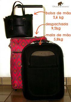 mala de inverno peças essenciais e mala de bordo para frio