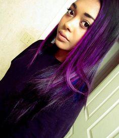 Dark Purple Hair Color Ideas for Girls - New Hairstyles, Haircuts & Hair Color Ideas
