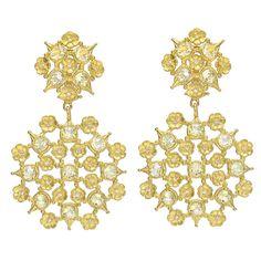 PAUL MORELLI Gold, Lemon Citrine & Diamond Drop Earrings
