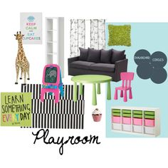 Color scheme for playroom