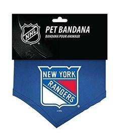 New York Rangers NHL Sports Team Logo Dog Bandana