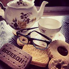 #mycglife - Claire Goldsmith Eyewear - Brooke in black on liquorice - #teaandbiscuits #teatime #glasses #spectacles #clairegoldsmith #eyewear
