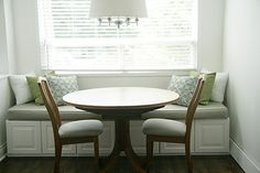 banquette with storage possibility