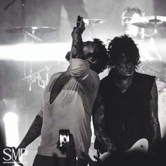 #DannyWorsnop #BenBruce and #JamesCassells in 50 shades of grey lol #AskingAlexandria <3