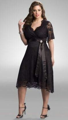 Plus size bridesmaid dresses with sleeves - Collections 2020 Black Lace Cocktail Dress, Cocktail Dresses With Sleeves, Bridesmaid Dresses With Sleeves, Plus Size Cocktail Dresses, Plus Size Prom Dresses, Lace Dress Black, Cheap Prom Dresses, Trendy Dresses, Ball Dresses