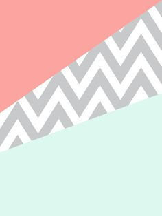 Original Mint & Coral Chevron Block Throw Pillow by dani - Cover x with pillow insert - Indoor Pillow Coral Bedroom, Baby Bedroom, Girls Bedroom, Bedroom Orange, Bedrooms, Master Bedroom, Coral Chevron, Mint Coral, Coral Art